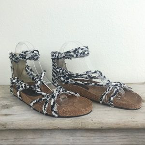 NEW Free People | Redlands Footbed Rope Sandals
